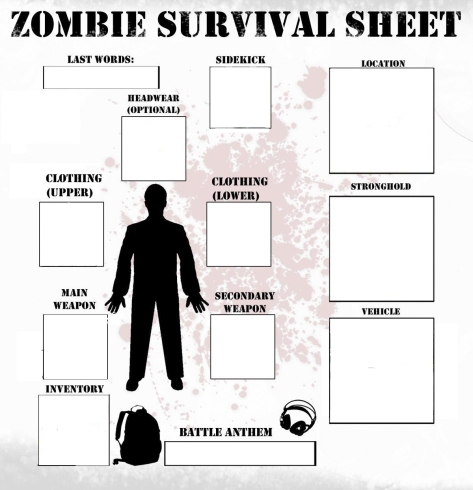 zombie survival list