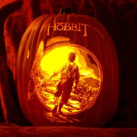 hobbit pumpkin1