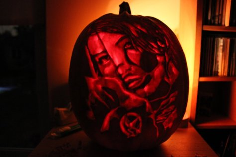 hunger games pumpkin1