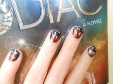 zodiac book manicure